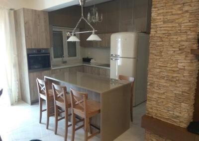 Ανανέωση κουζίνας και τραπεζαρίας στη Θεσσαλονίκη