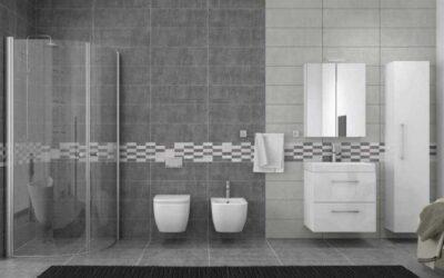 Μοντέρνα πλακάκια μπάνιου